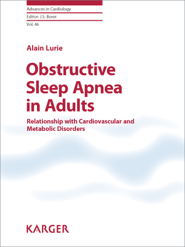 Obstructive Sleep Apnea in Adults: Relationship with Cardiovascular and Metabolic Disorders